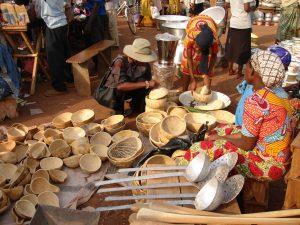 Aisha in african market