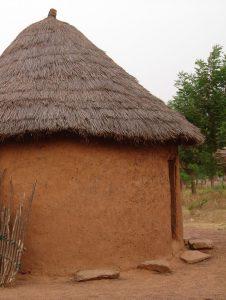 House in tamale, ghana